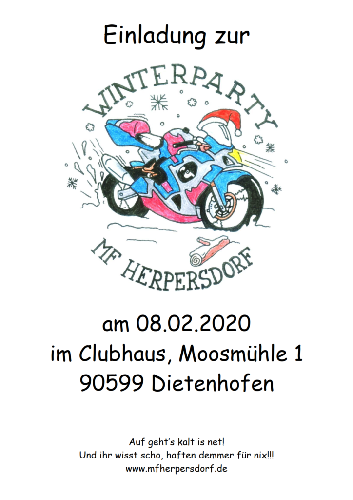 Winterparty MF Herpersdorf